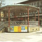 Colour photograph of bandstand in Queens Square