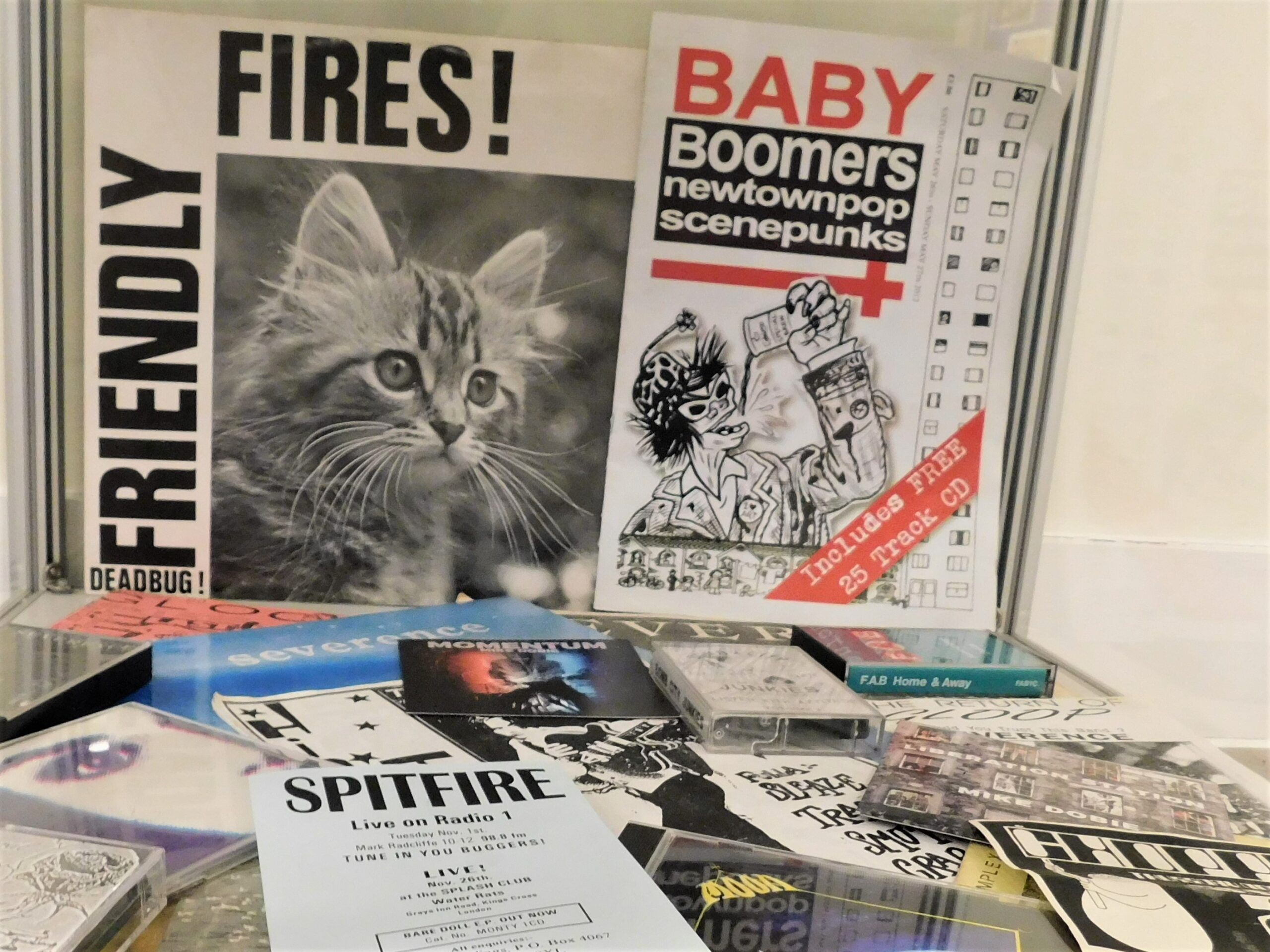 Collection of Records, CDs and flyers