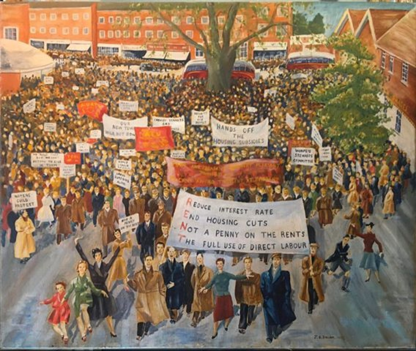rent strike painting 3