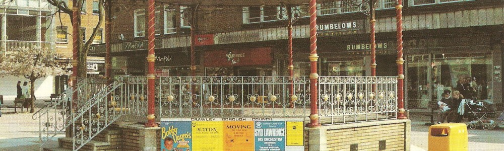 Number Unknown - Crawley Town Bankstand Postcard -1989